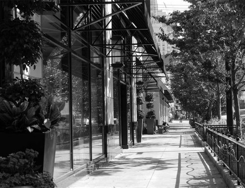Broadway Avenue Streetscape