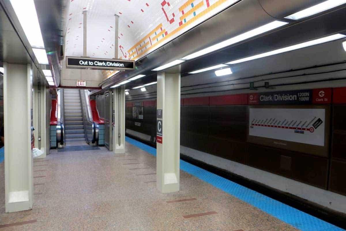 Clark Lasalle subway
