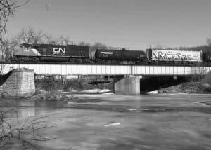 Iowa River Railroad Bridge