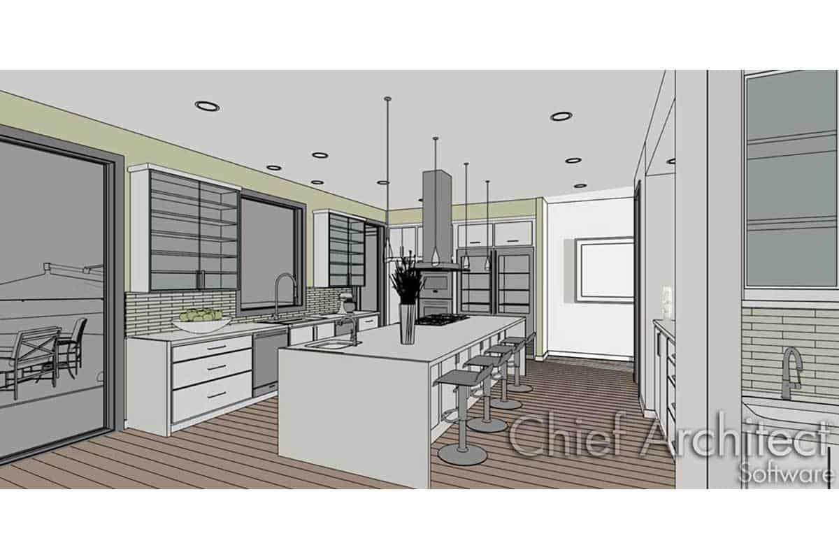 Residential building plans and site development beier for Civil kitchen designs